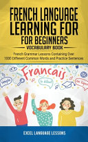 French Language Learning for Beginner s   Vocabulary Book