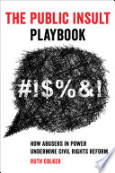 The Public Insult Playbook Book