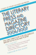 The Literary Press and Magazine Directory  2006 2007