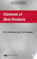 Elements of Real Analysis