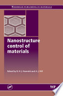 Nanostructure Control of Materials Book