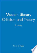Modern Literary Criticism and Theory