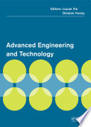 Advanced Engineering and Technology Book