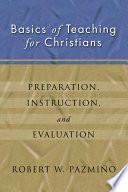 Basics Of Teaching For Christians