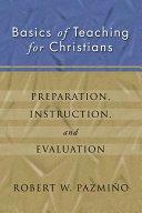 Basics of Teaching for Christians Pdf/ePub eBook