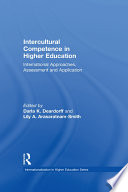 Intercultural Competence in Higher Education Book PDF