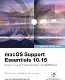 MacOS Support Essentials 10 15   Apple Pro Training Series