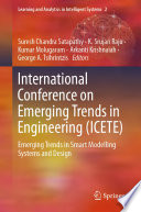 International Conference on Emerging Trends in Engineering (ICETE)