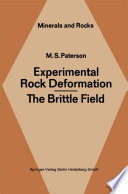 Experimental Rock Deformation The Brittle Field Book PDF
