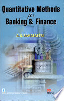 Quantititive Methods For Banking & Finance