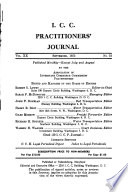 I C C Practitioners Journal