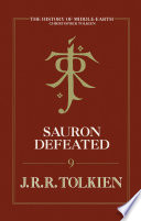 Sauron Defeated The History Of Middle Earth Book 9