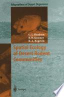 Spatial Ecology of Desert Rodent Communities