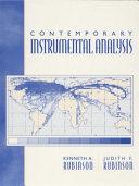 Contemporary Instrumental Analysis