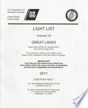 Light List  2011  V  7  Great Lakes and the St  Lawrence River Above the St  Regis River