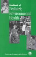 Handbook of Pediatric Environmental Health