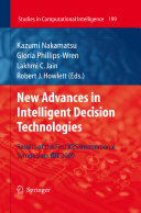 New Advances in Intelligent Decision Technologies