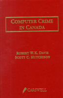 Computer Crime in Canada