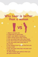 Why Beer Is Better Than a Woman: Beer Tasting Journal for Home Brew and Great Gift for Beer Lovers