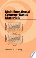 Multifunctional Cement Based Materials Book