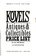 Kovels  Antiques and Collectibles Price List 1993