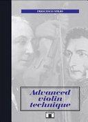 Advanced Violin Technique