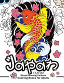 Japan Tattoo Coloring Books
