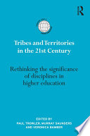 Tribes and Territories in the 21st Century