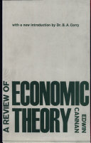 A Review Of Economic Theory