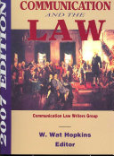 Communication and the Law 2007
