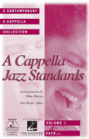 A Cappella Jazz Standards Collection  Book PDF