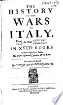 The History of the Wars of Italy