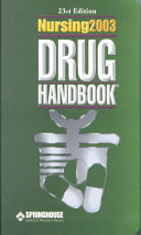 Read Online Nursing2003 Drug Handbook For Free
