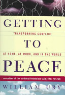 Getting to Peace Book