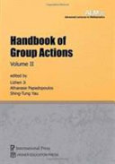 Handbook of Group Actions