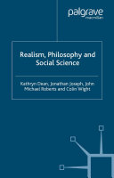 Realism  Philosophy and Social Science