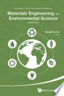 Materials Engineering and Environmental Science Book