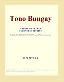 Pdf Tono Bungay (Webster's French Thesaurus Edition)