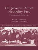 The Japanese-Soviet Neutrality Pact Pdf/ePub eBook