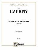 School of Velocity, Op. 299: Complete