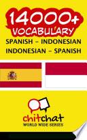 14000  Spanish   Indonesian Indonesian   Spanish Vocabulary Book