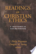 Readings in Christian Ethics Book