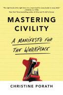 Mastering Civility [Pdf/ePub] eBook