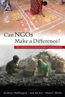 Pdf Can NGOs Make a Difference? Telecharger