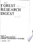 Forest Research Digest