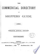 The Commercial directory of Liverpool  and shipping guide  afterw   The Commercial directory and shippers  guide  afterw   Fulton s commercial directory and shippers  guide Book