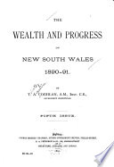 The Wealth and Progress of New South Wales, 1890-91