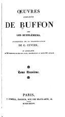 Œuvres complètes de Buffon avec les supplémens