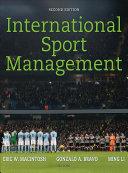 International Sport Management Book