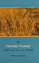 The Cherokee Frontier